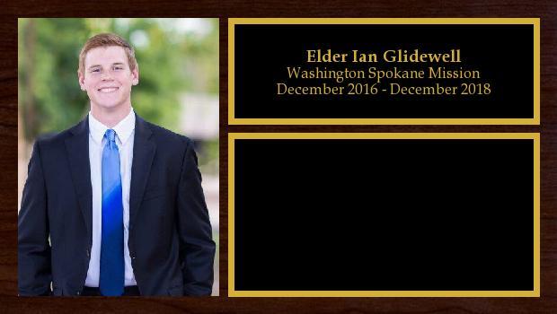 December 2016 to January 2019<br/>Elder Ian Glidewell
