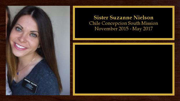 November 2015 to May 2017<br/>Sister Suzanne Nielson