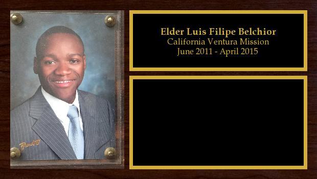 June 2011 to April 2015<br/>Elder Luis Filipe Belchior