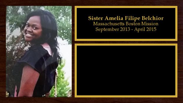 September 2013 to April 2015<br/>Sister Amelia Filipe Belchior