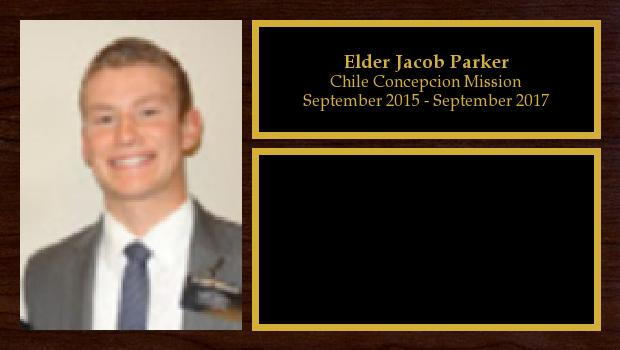 September 2015 to September 2017<br/>Elder Jacob Parker