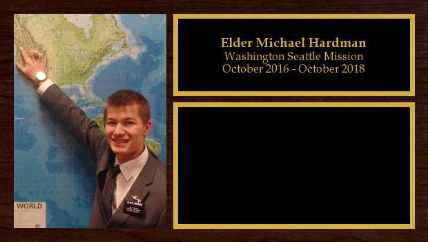 October 2016 to October 2018<br/>Elder Michael Hardman
