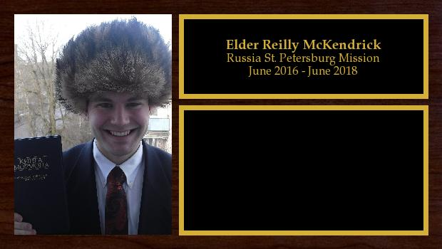 June 2016 to June 2018<br/>Elder Reilly McKendrick