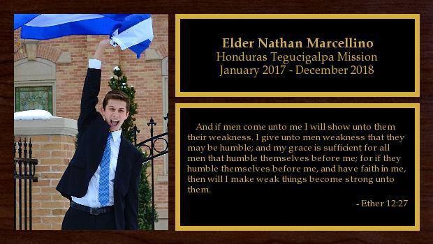 January 2017 to December 2018<br/>Elder Nathan Marcellino