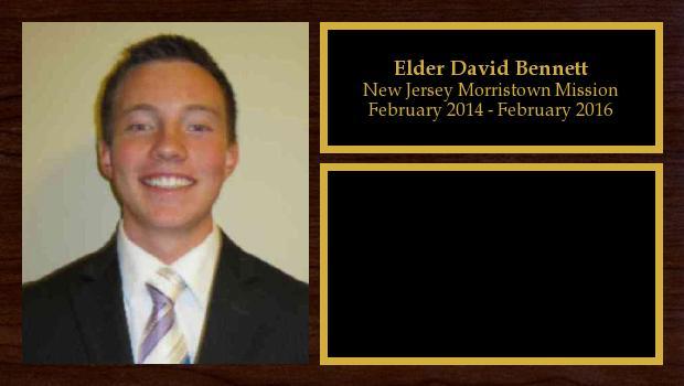 February 2014 to February 2016<br/>Elder David Bennett