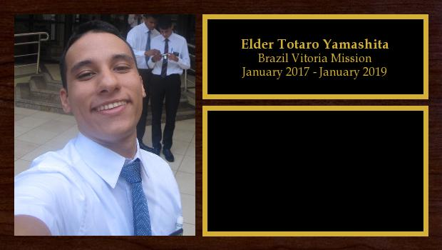 January 2017 to January 2019<br/>Elder Totaro Yamashita