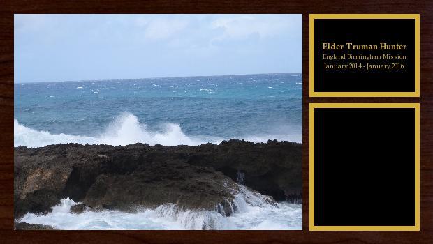January 2014 to January 2016<br/>Elder Truman Hunter