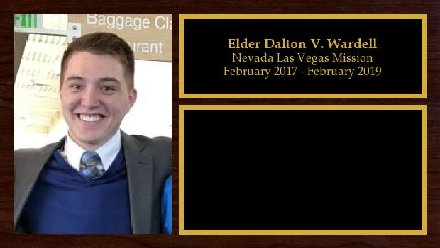 February 2017 to February 2019<br/>Elder Dalton V. Wardell