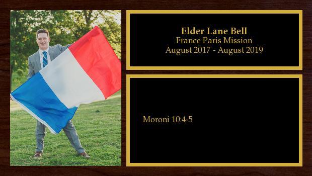 August 2017 to August 2019<br/>Elder Lane Bell