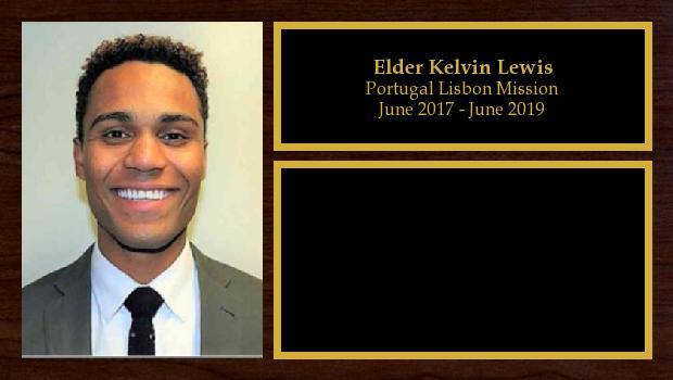 June 2017 to June 2019<br/>Elder Kelvin Lewis