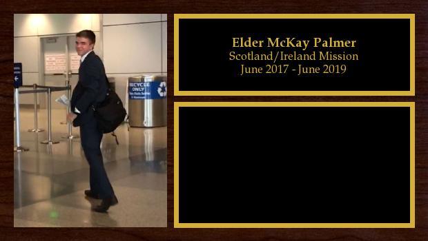 June 2017 to June 2019<br/>Elder McKay Palmer