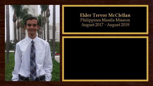 August 2017 to August 2019<br/>Elder Trevor McClellan