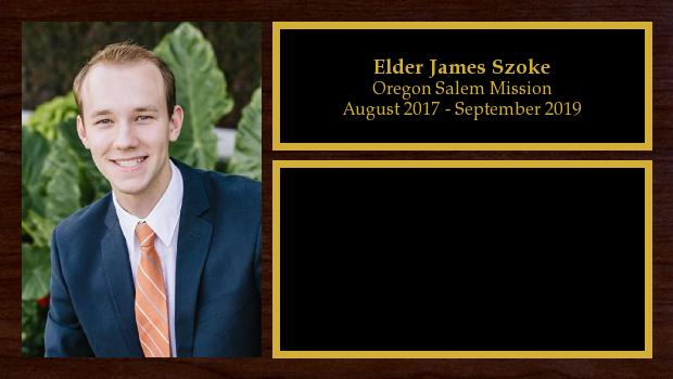 August 2017 to September 2019<br/>Elder James Szoke