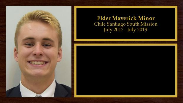 July 2017 to July 2019<br/>Elder Maverick Minor