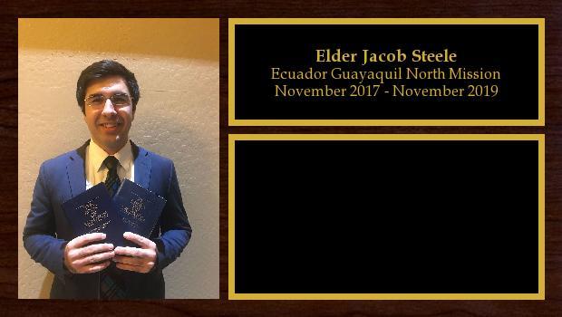 November 2017 to November 2019<br/>Elder Jacob Steele