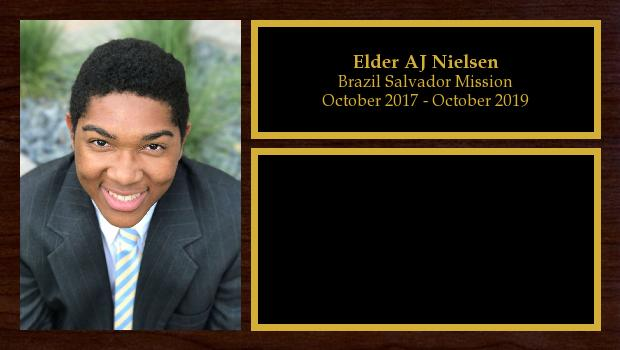 October 2017 to October 2019<br/>Elder AJ Nielsen