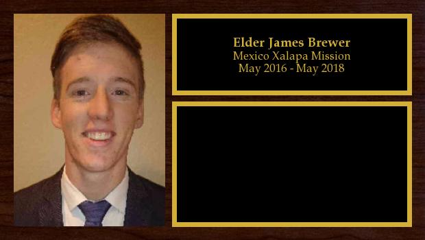 May 2016 to May 2018<br/>Elder James Brewer