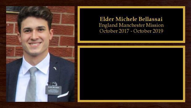 October 2017 to October 2019<br/>Elder Michele Bellassai