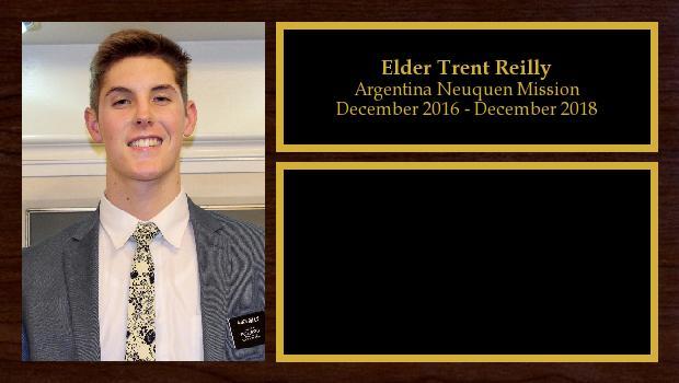 December 2016 to December 2018<br/>Elder Trent Reilly