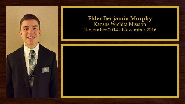 November 2014 to November 2016<br/>Elder Benjamin Murphy
