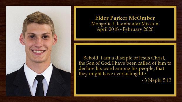 April 2018 to February 2020<br/>Elder Parker McOmber
