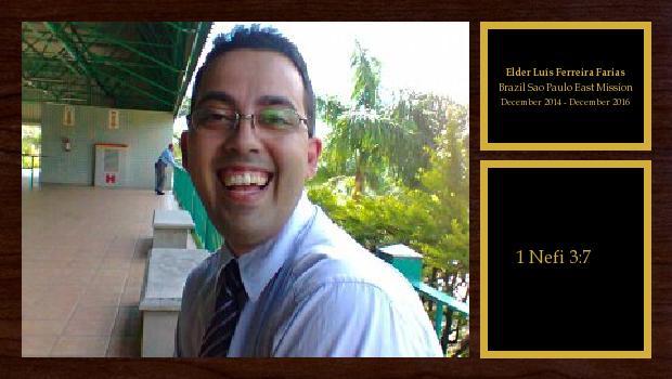December 2014 to December 2016<br/>Elder Marco Antonio