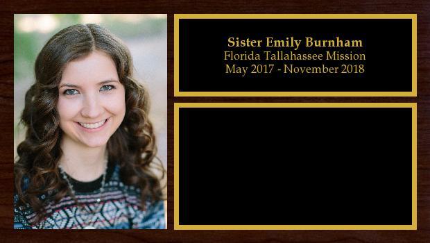 May 2017 to November 2018<br/>Sister Emily Burnham
