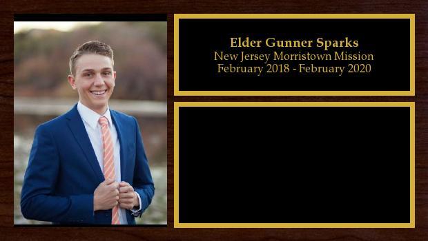 February 2018 to January 2020<br/>Elder Gunner Sparks