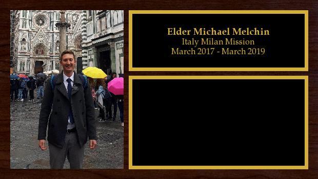March 2017 to March 2019<br/>Elder Michael Melchin