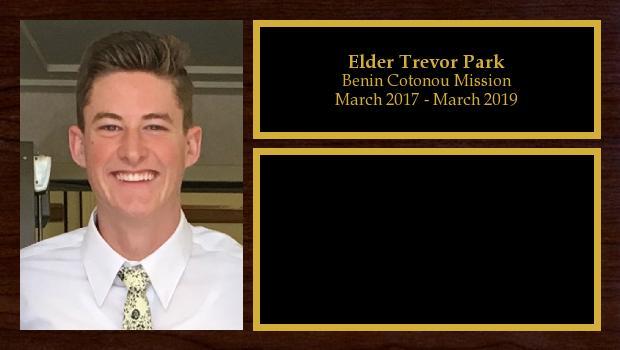 March 2017 to March 2019<br/>Elder Trevor Park