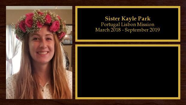 March 2018 to September 2019<br/>Sister Kayle Park