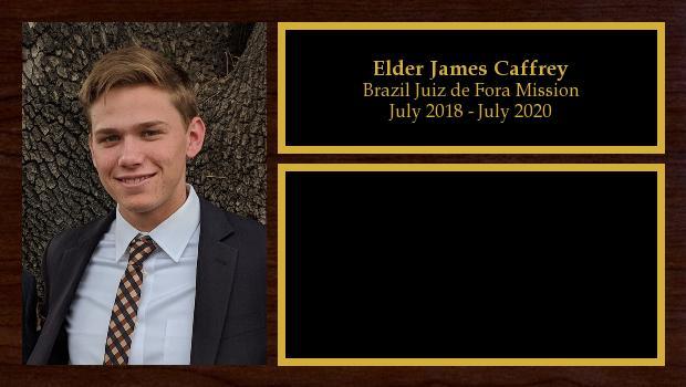 July 2018 to July 2020<br/>Elder James Caffrey