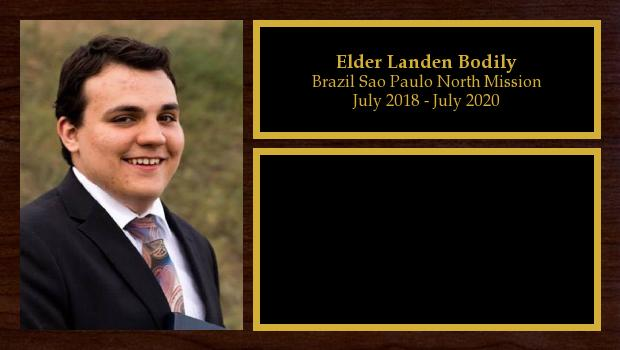July 2018 to July 2020<br/>Elder Landen Bodily