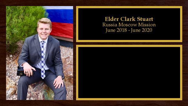 June 2018 to June 2020<br/>Elder Clark Stuart