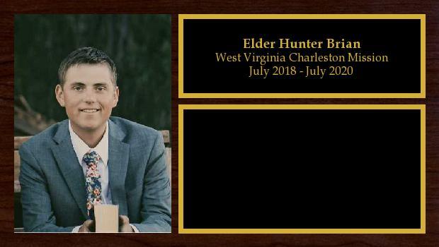 July 2018 to July 2020<br/>Elder Hunter Brian