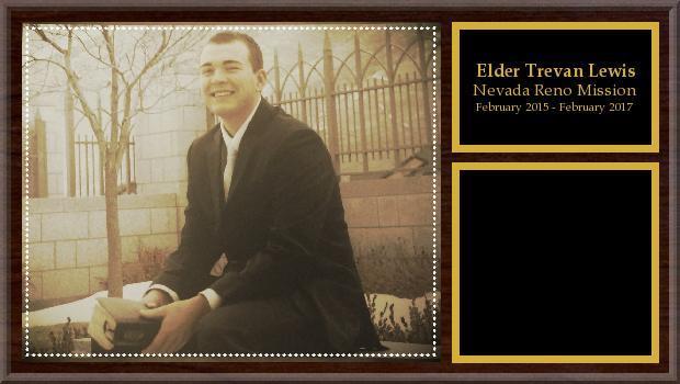 February 2015 to February 2017<br/>Elder Trevor Lewis