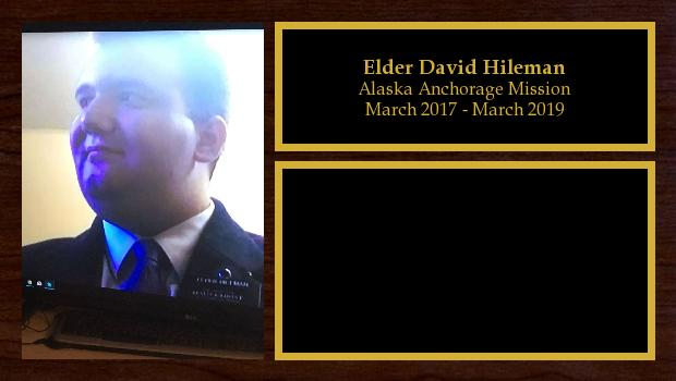 March 2017 to March 2019<br/>Elder David Hileman
