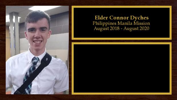 August 2018 to July 2020<br/>Elder Connor Dyches
