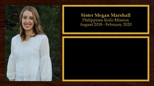 August 2018 to February 2020<br/>Sister Megan Marshall