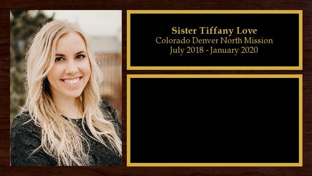 July 2018 to January 2020<br/>Sister Tiffany Love