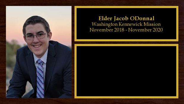 November 2018 to November 2020<br/>Elder Jacob ODonnal