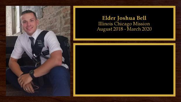 August 2018 to August 2020<br/>Elder Joshua Bell