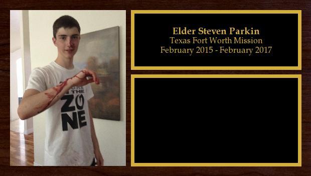 February 2015 to February 2017<br/>Elder Steven Parkin