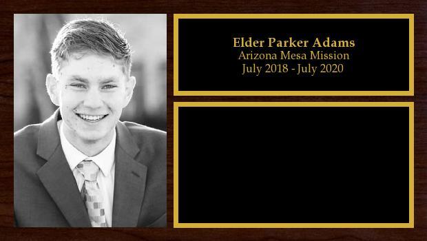 July 2018 to July 2020<br/>Elder Parker Adams