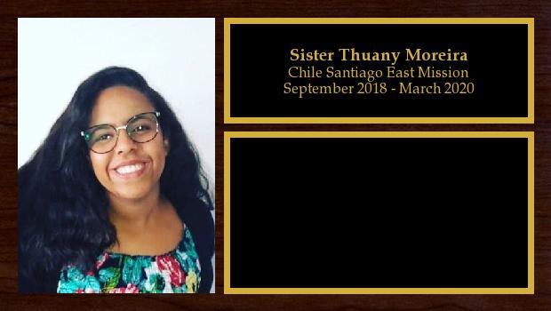 September 2018 to February 2020<br/>Sister Thuany Moreira