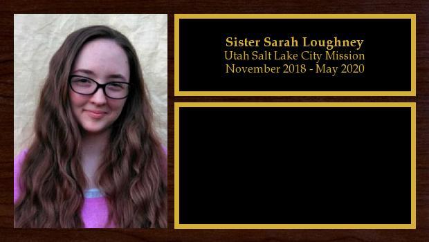 November 2018 to May 2020<br/>Sister Sarah Loughney