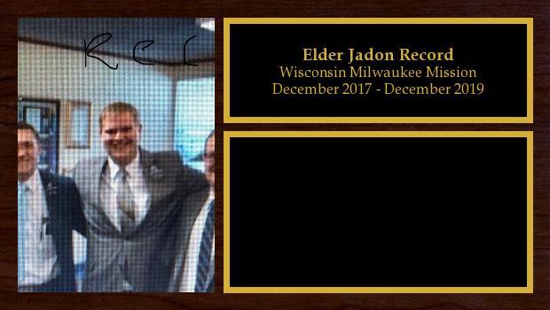 November 2017 to November 2019<br/>Elder Jadon Record