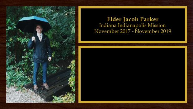 November 2017 to November 2019<br/>Elder Jacob Parker