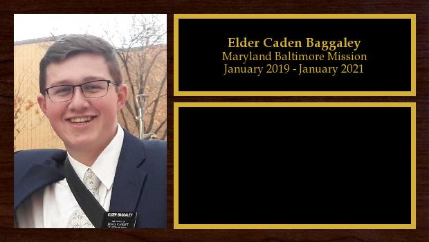 January 2019 to January 2021<br/>Elder Caden Baggaley