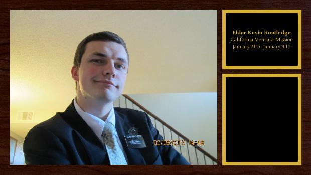 January 2015 to January 2017<br/>Elder Kevin Routledge